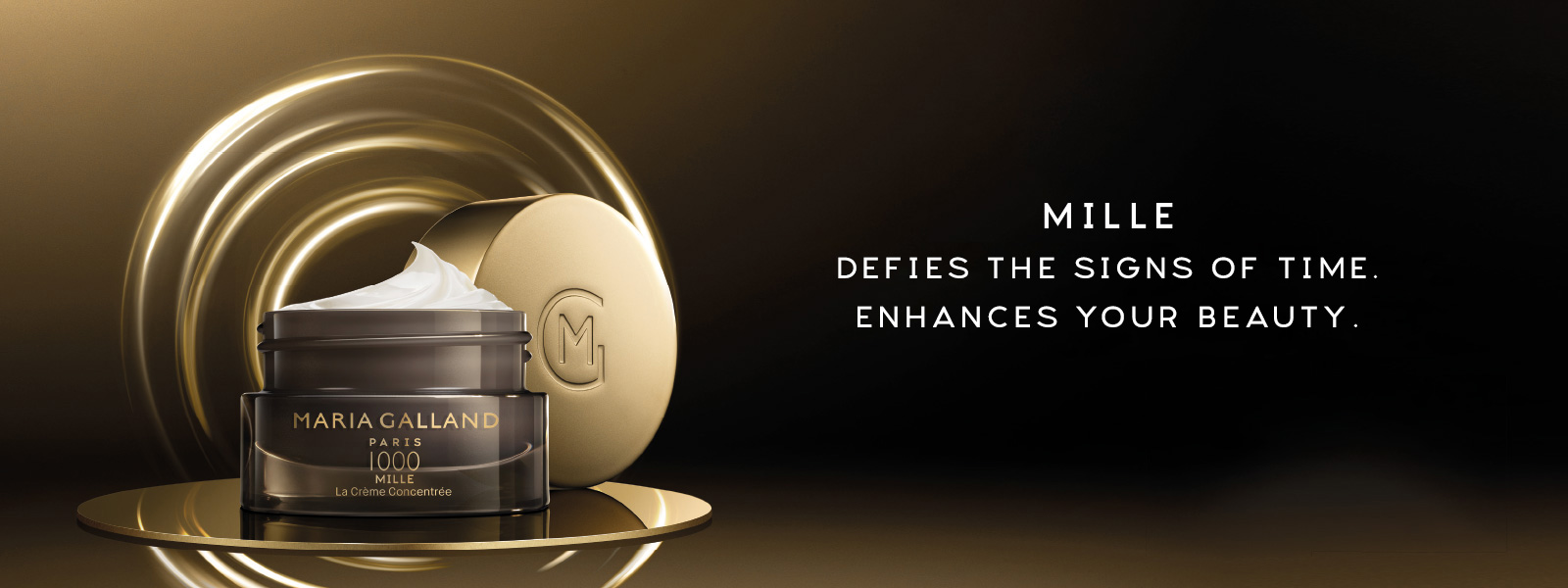 Mille 6 Defies the signs of time. Enhances your beauty.